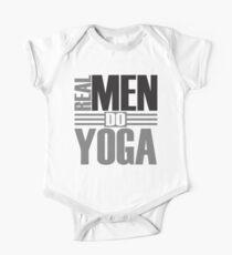 Real men do yoga Kids Clothes