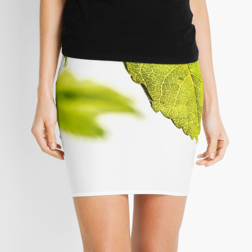 Leaves of a rose Mini Skirt