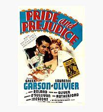 Pride and Prejudice Poster (1940) Photographic Print