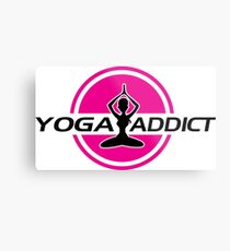 Yoga addict Metal Print