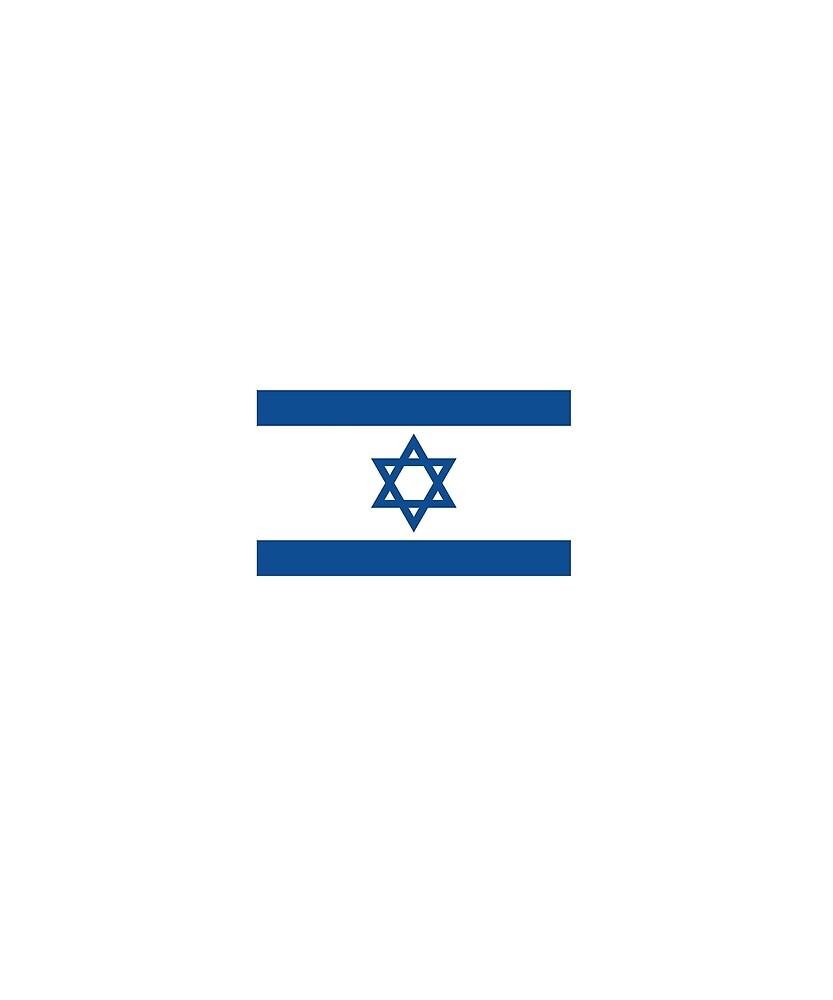 Israel Flag National Pride by TrevelyanPrints