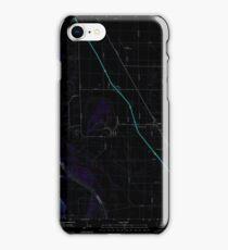 USGS TOPO Map Iowa IA Salix 20130502 TM Inverted iPhone Case/Skin