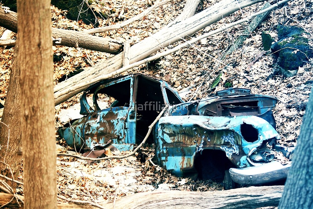 """Decaying Car """"Lost In Time"""" Version 1 by ajaffiliation"""