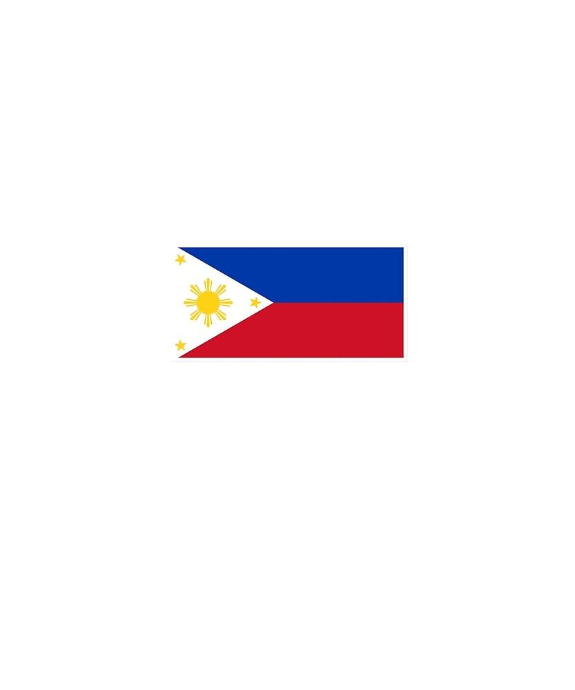 Philippines Flag National Pride  by TrevelyanPrints