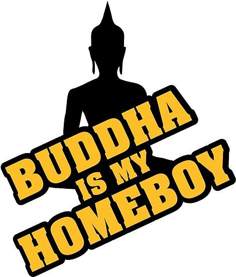 Buddha is my homeboy by nektarinchen