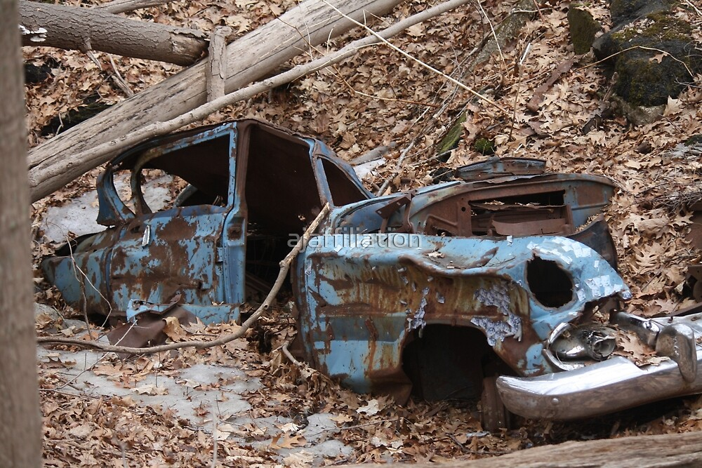 """Decaying Car """"Lost In Time"""" Version 2 by ajaffiliation"""
