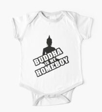Buddha is my homeboy Kids Clothes