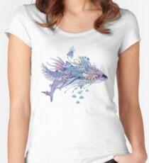 Journeying Spirit (Shark) Fitted Scoop T-Shirt