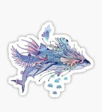 Journeying Spirit (Shark) Sticker