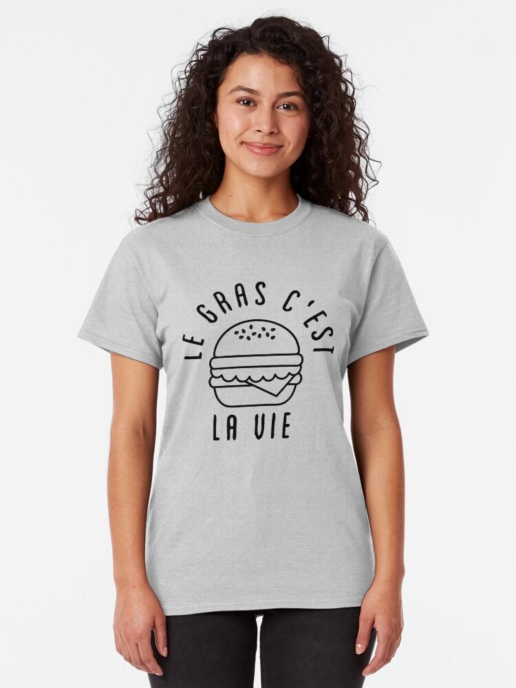 T-shirt classique ''LGCLV Burger Salade': autre vue