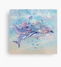 Journeying Spirit (Shark) Metal Print