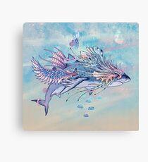 Journeying Spirit (Shark) Canvas Print