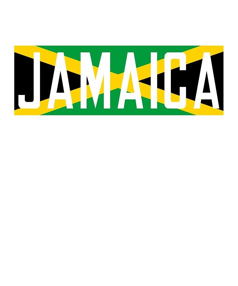 Jamaica Flag National Pride by TrevelyanPrints