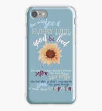 Vincent & The Doctor Who Quote Design  iPhone Case/Skin