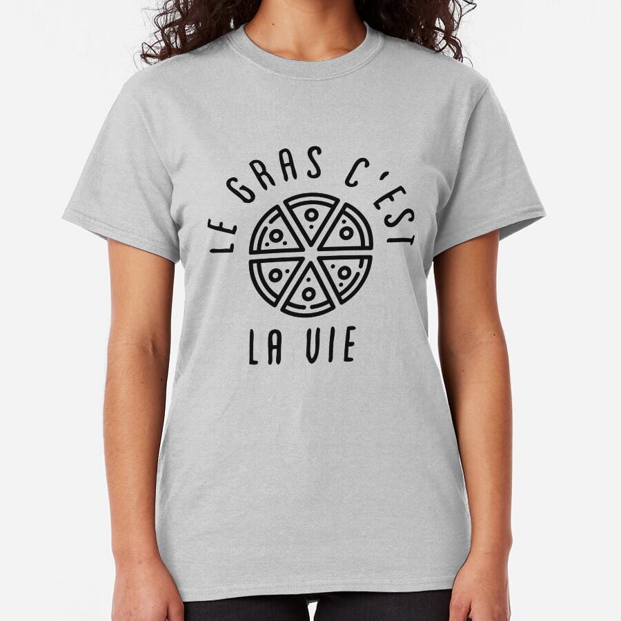 LGCLV Pizza T-shirt classique