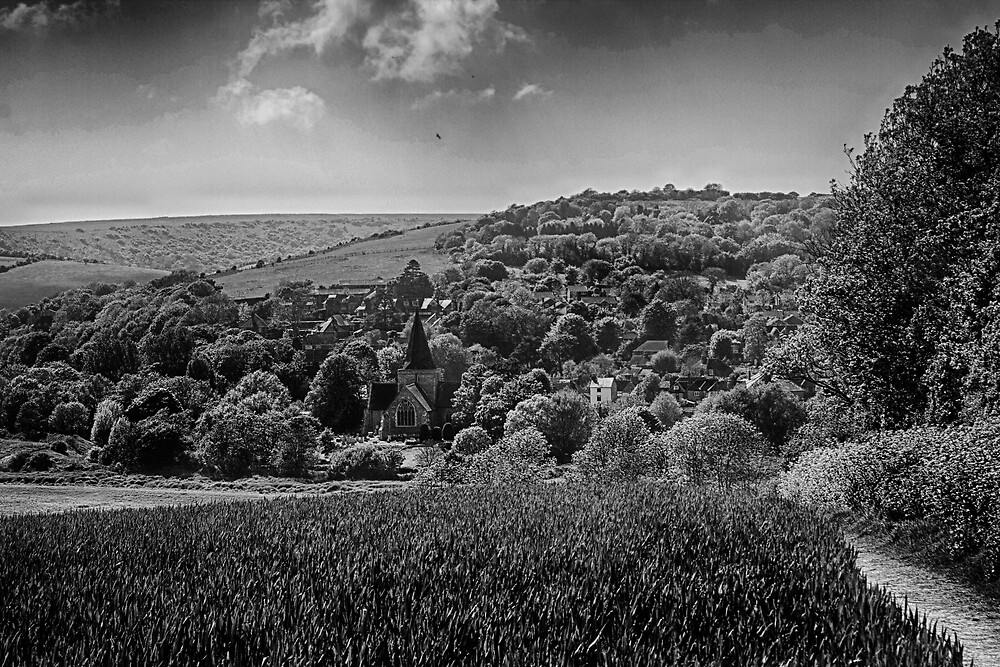 Across To Alfriston by Dave Godden