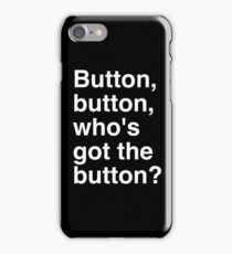 BUT White iPhone Case/Skin