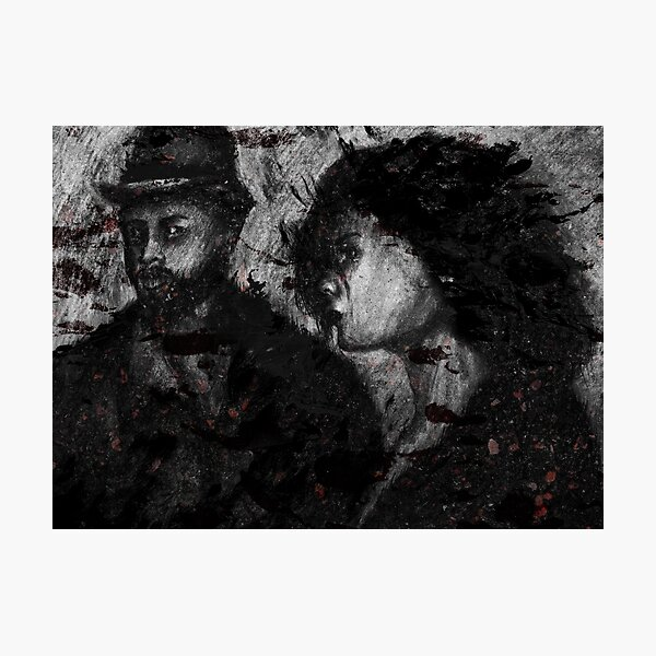 Gangsters Photographic Print