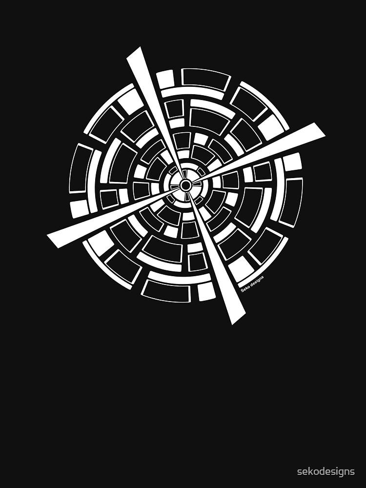 Mandala 26 Simply White by sekodesigns