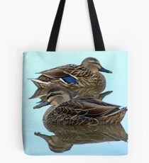 We're Cool, Calm And Collected..! Mallard Ducks - NZ Tote Bag