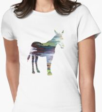 Mule  Womens Fitted T-Shirt