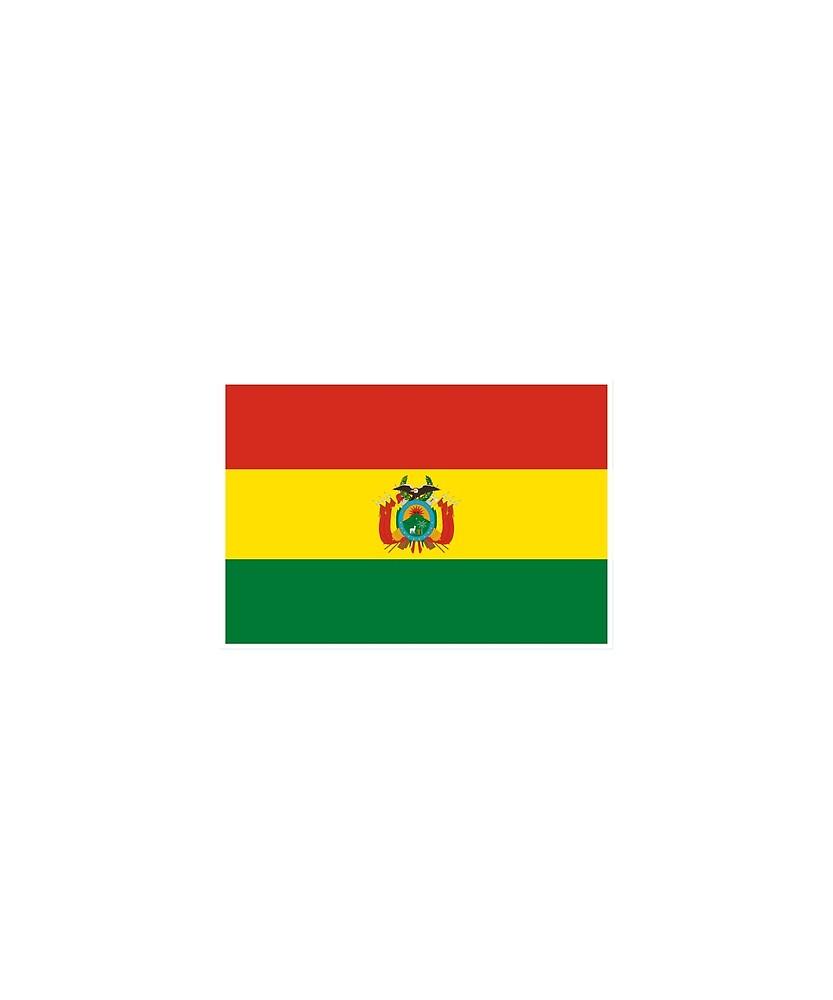 Bolivia Flag National Pride  by TrevelyanPrints