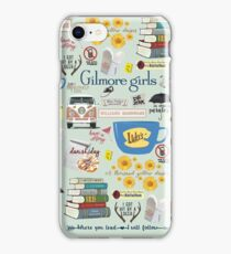 Gilmore Girls Collage, mint green iPhone Case/Skin
