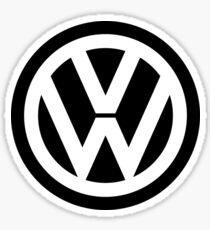 volkswagen emblem Sticker