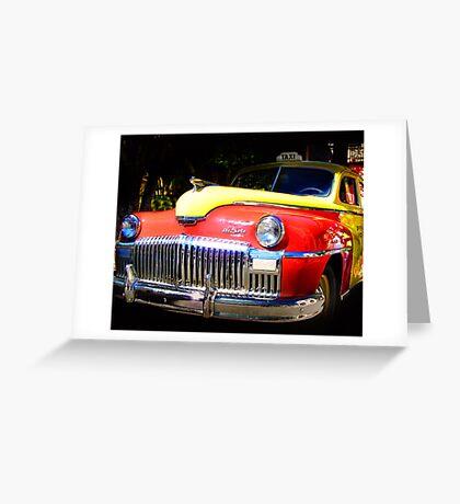 DeSoto Taxi Greeting Card