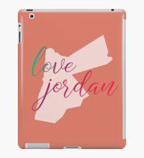 Love Jordan Colourful Text Art iPad Case/Skin