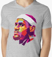 Lebron James Men's V-Neck T-Shirt