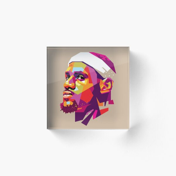 Lebron James Acrylic Block