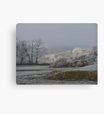 dales morning Canvas Print