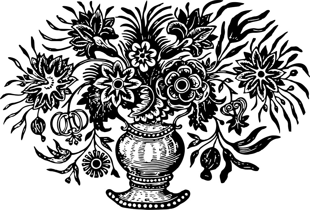 Vase With Flowers by seriouscereal