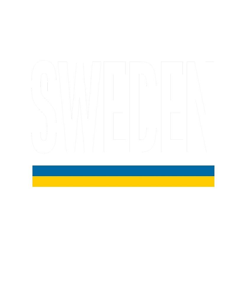 Sweden Flag National Pride by TrevelyanPrints