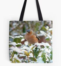 Excuse Me!!...Umm...Is This The Tranquillity Restaurant?..Chaffinch - NZ Tote Bag