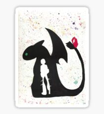 HTTYD - Water Color Sticker