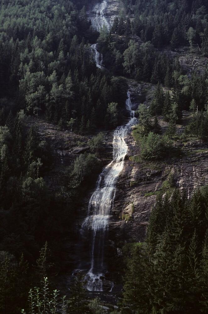 Waterfall ( part 1 ) by bertspix