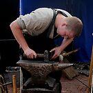 Mettle on metal: a blacksmith's apprentice by patjila