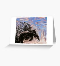 Dragon At Dawn Greeting Card
