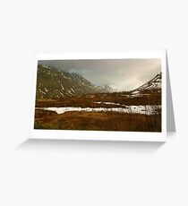 Evening Sky In Norway Greeting Card