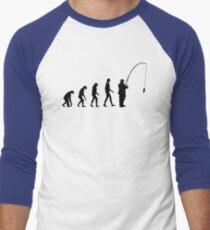 Evolution Fishing Men's Baseball ¾ T-Shirt