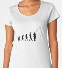 Evolution Fishing Women's Premium T-Shirt