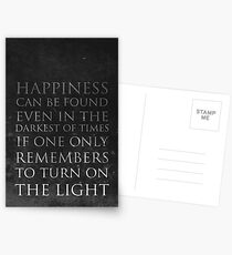Happiness Postcards