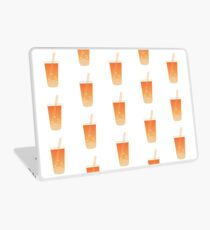 Tea Time - Orange Laptop Skin