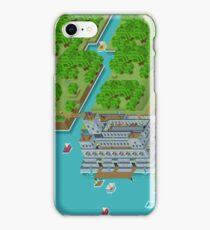 16 Bit Pixel Land iPhone Case/Skin