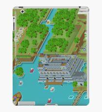 16 Bit Pixel Land iPad Case/Skin