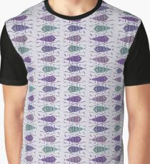 Weevil Waltz in Orchid Graphic T-Shirt