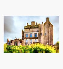 Delgatie Castle (near Turriff, in Aberdeenshire, Scotland) Photographic Print
