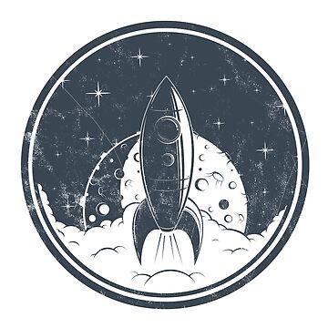 Rocketship by weybright